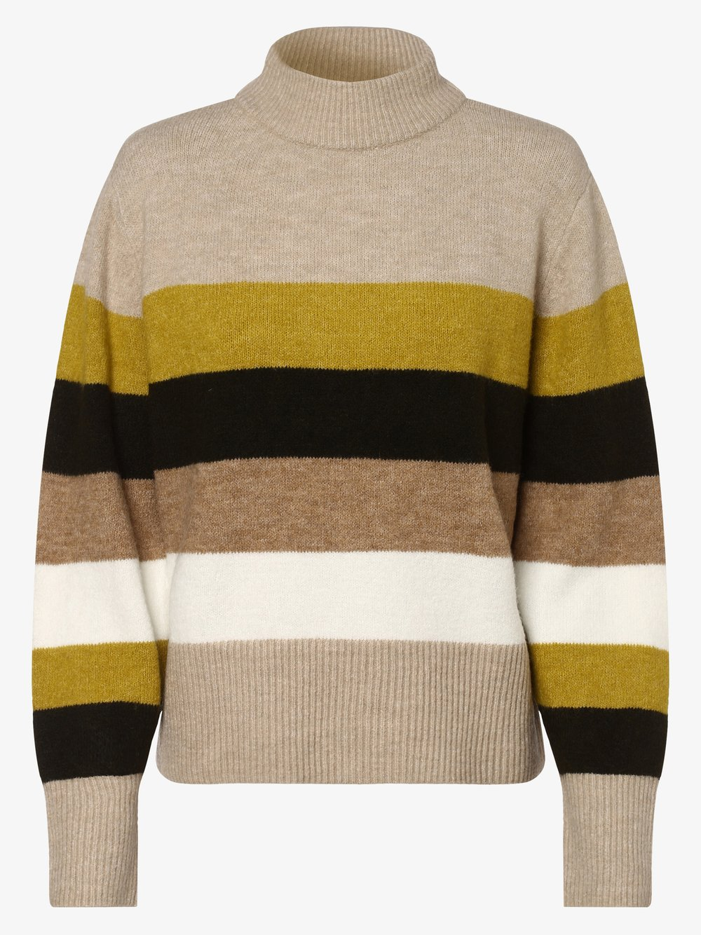 Opus - Sweter damski – Parko, beżowy