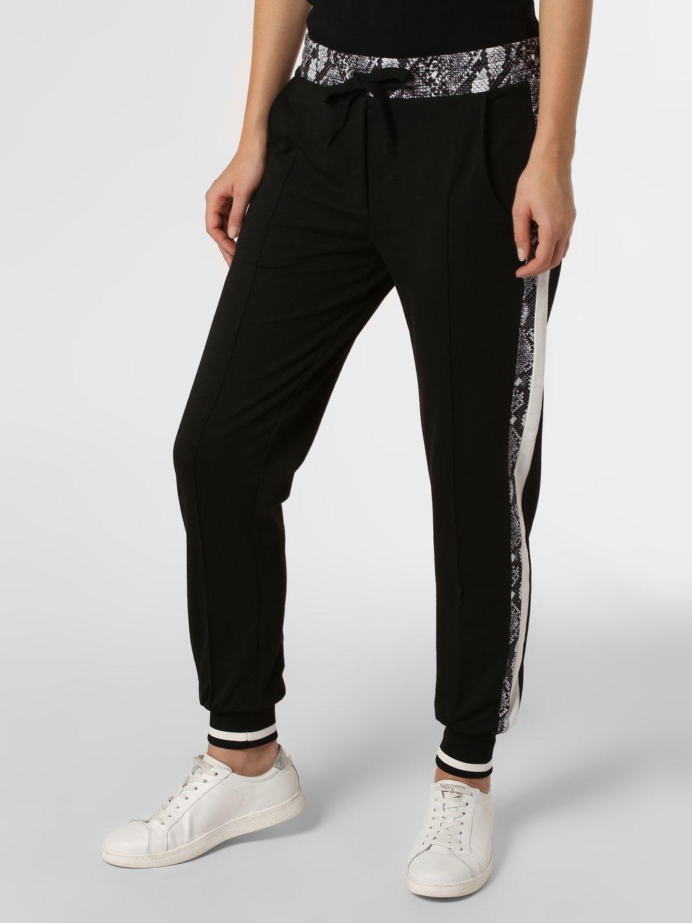 Marie Lund - Damskie spodnie dresowe, czarny