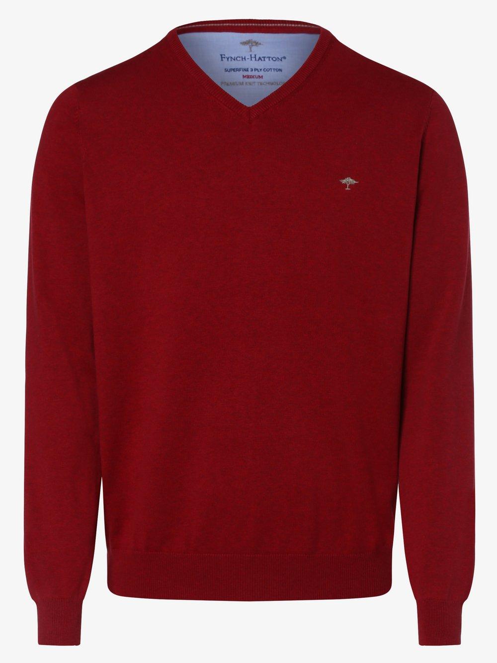 Fynch-Hatton – Sweter męski, lila Van Graaf 454961-0002-09995
