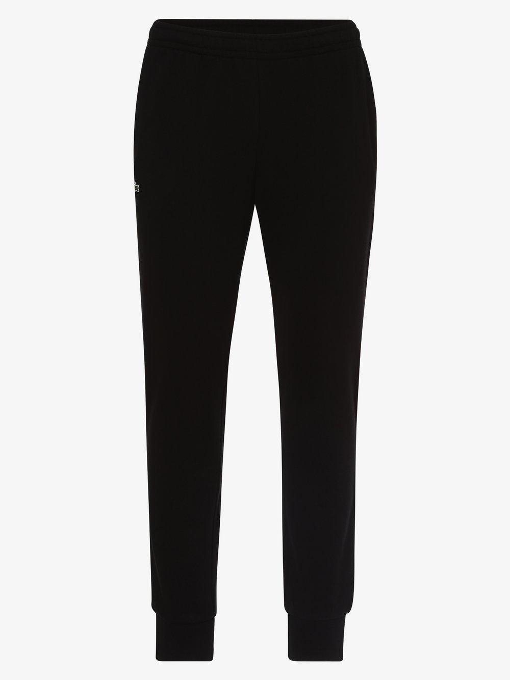 Lacoste - Spodnie dresowe męskie, czarny