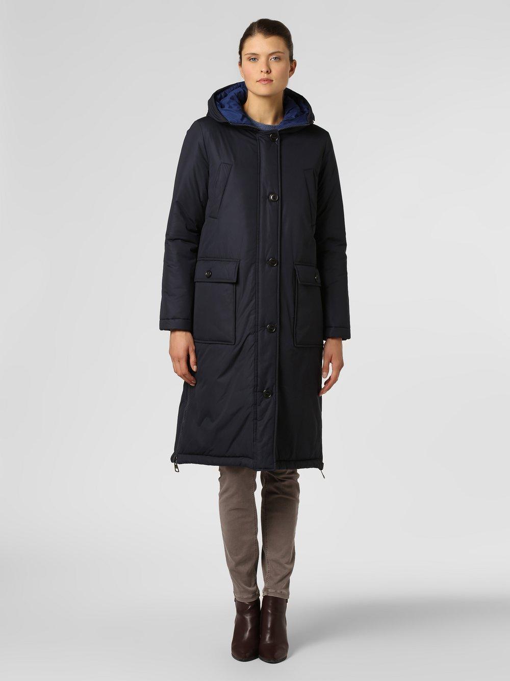 Marc O'Polo - Damski płaszcz dwustronny, niebieski