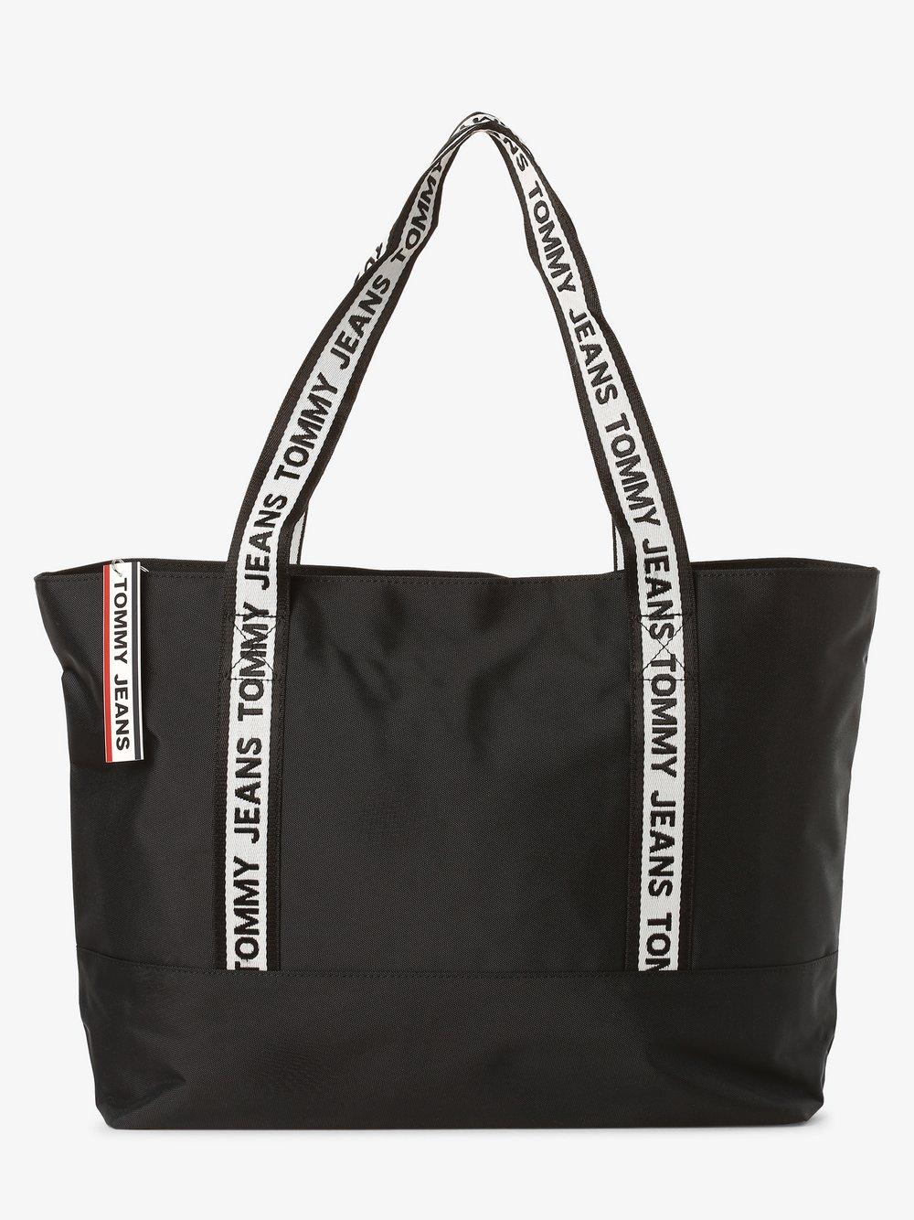 Tommy Jeans - Damska torba shopper, czarny