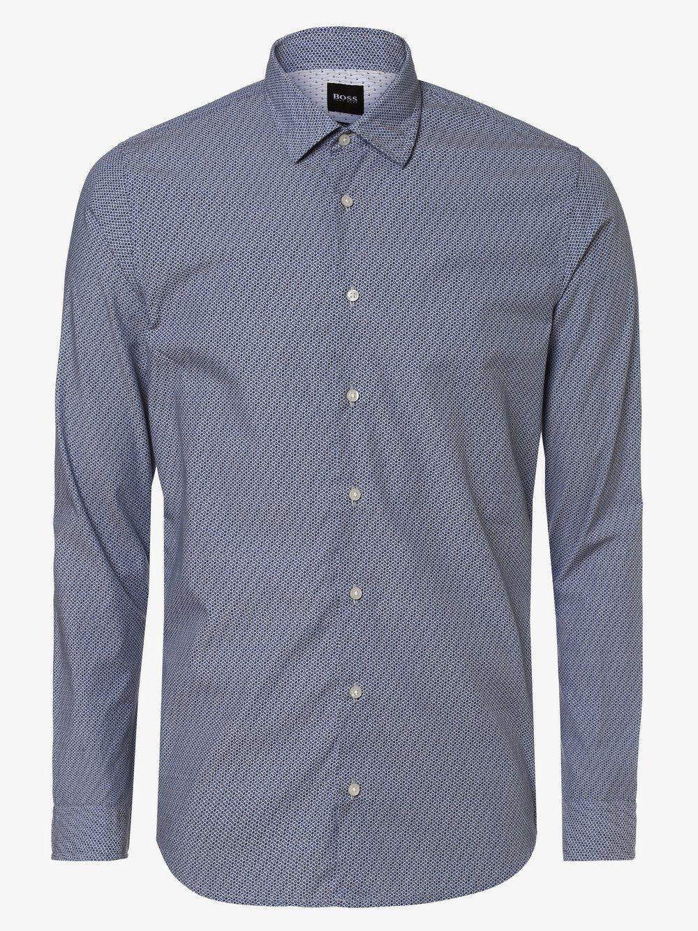 BOSS Casual – Koszula męska – Mypop_2, niebieski Van Graaf 455737-0001-09900