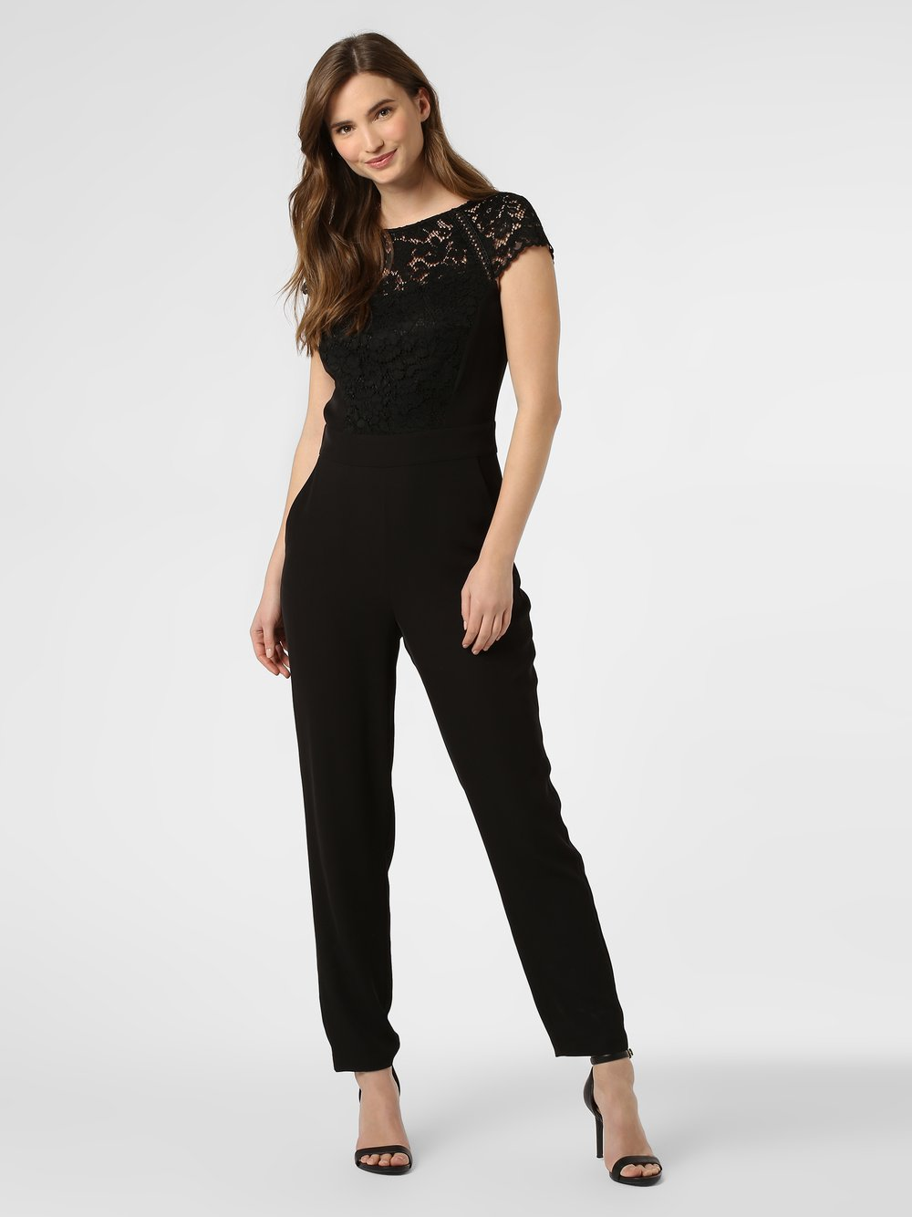 Esprit Collection – Kombinezon damski, czarny Van Graaf 455914-0001