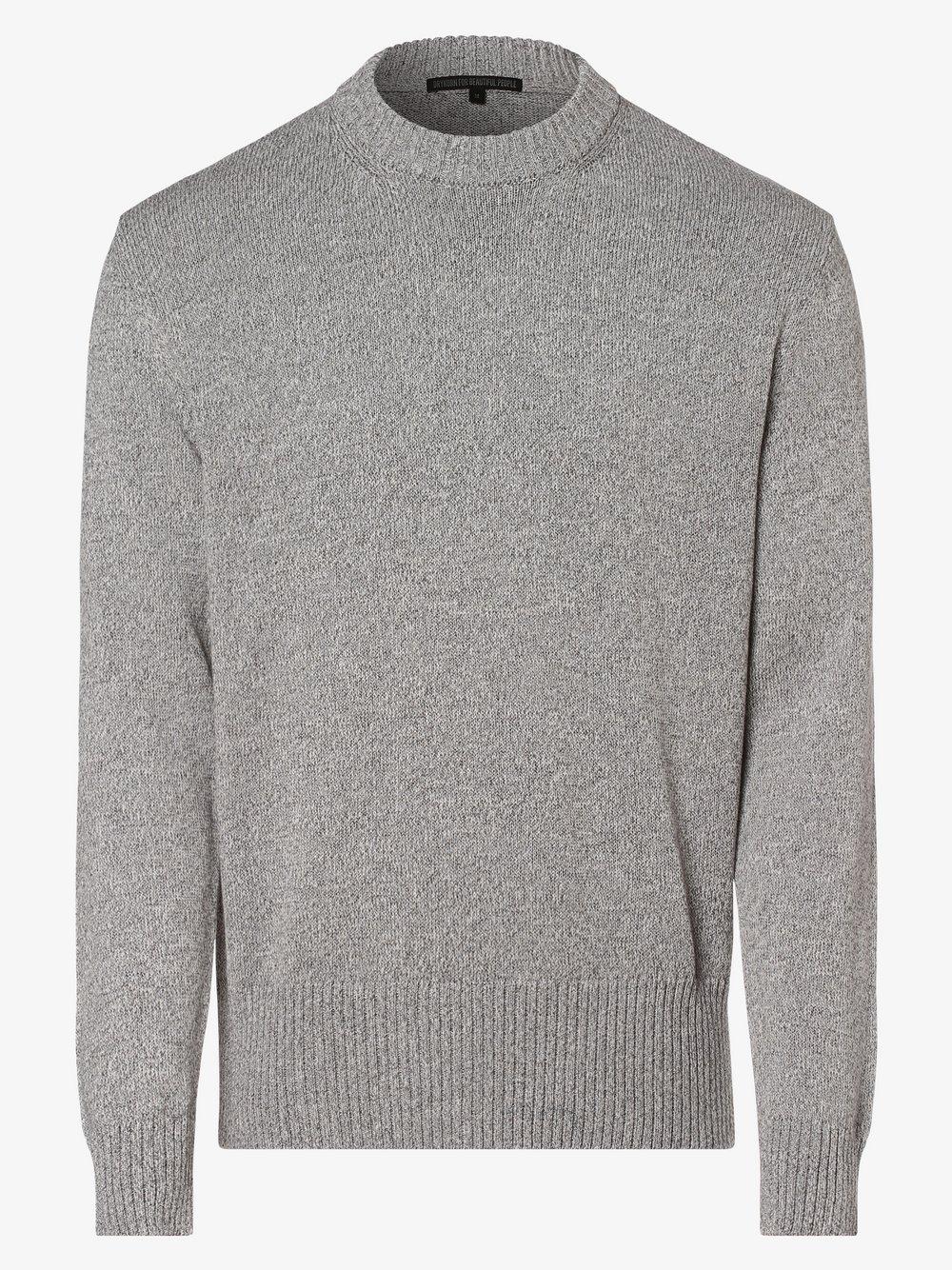 Drykorn - Sweter męski – Vincent, szary