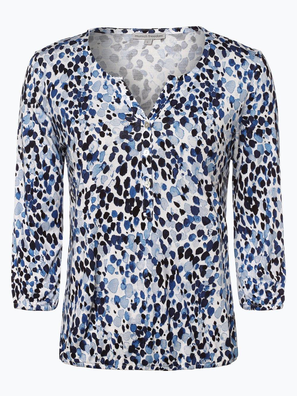 Munich Freedom – Koszulka damska, niebieski Van Graaf 456147-0002-09940