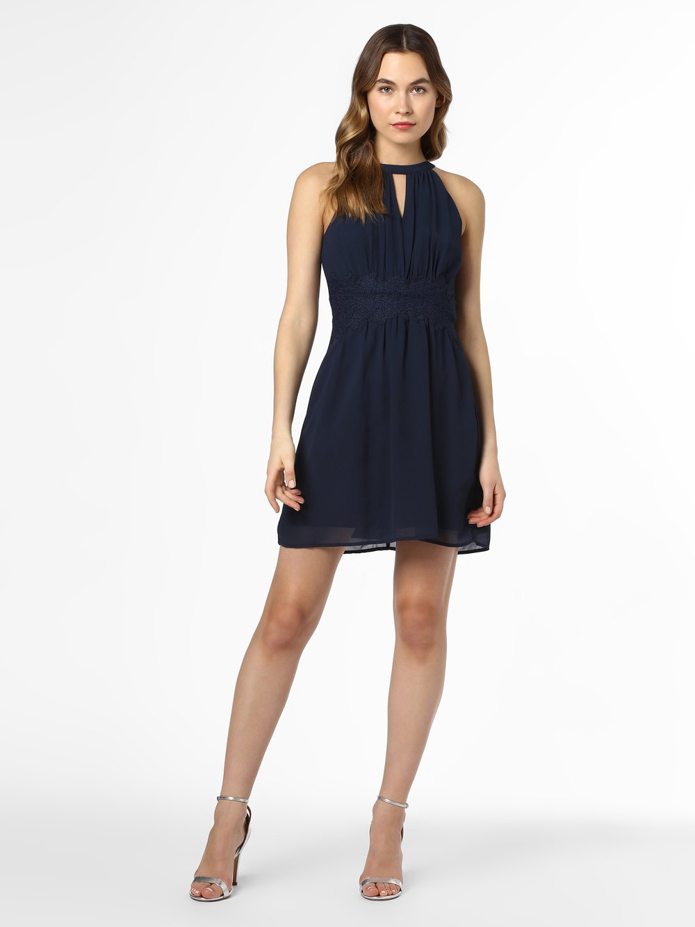 Vila - Sukienka damska – Vimilina, niebieski