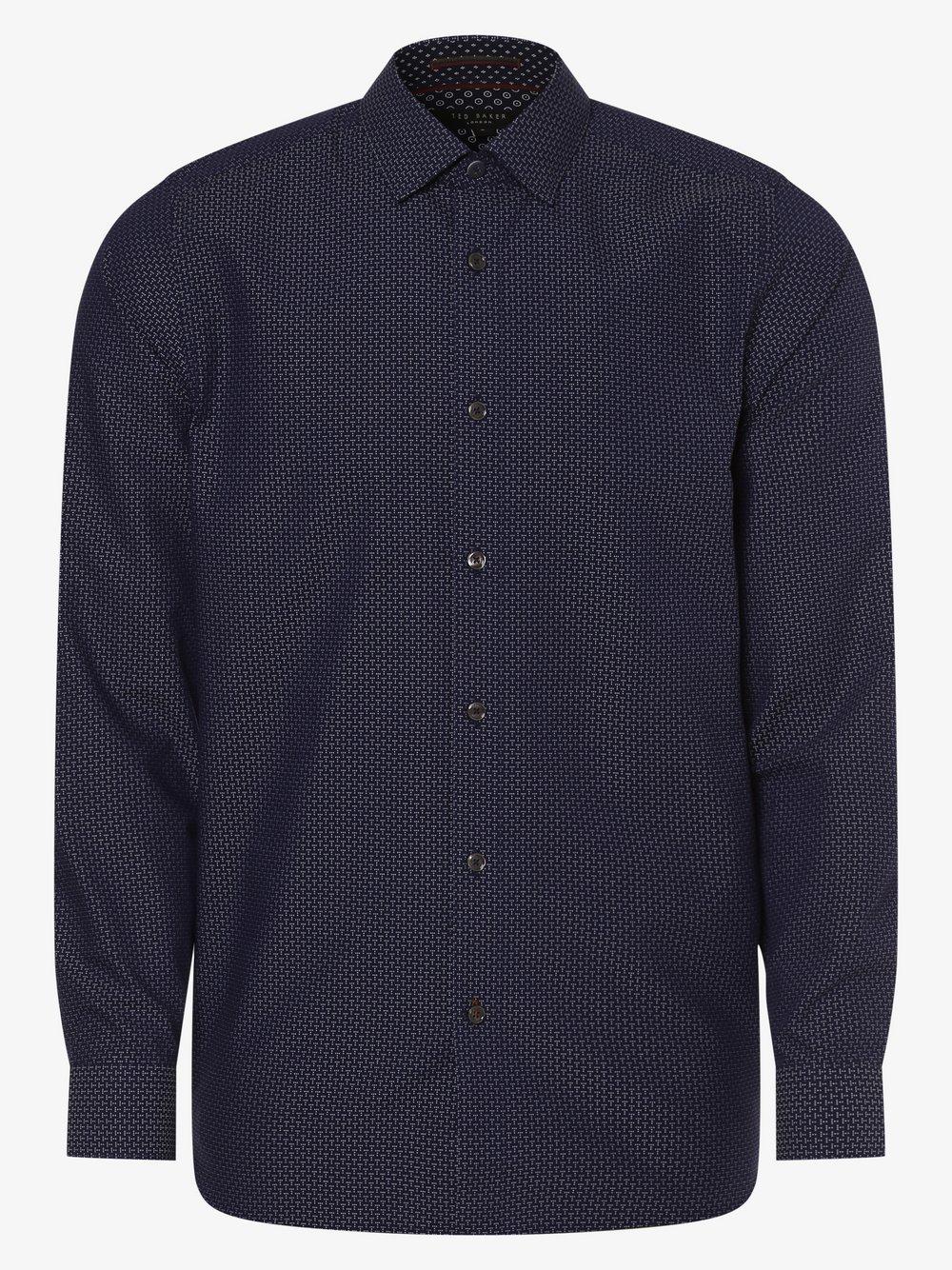 Ted Baker – Koszula męska – Andso, niebieski Van Graaf 456190-0001