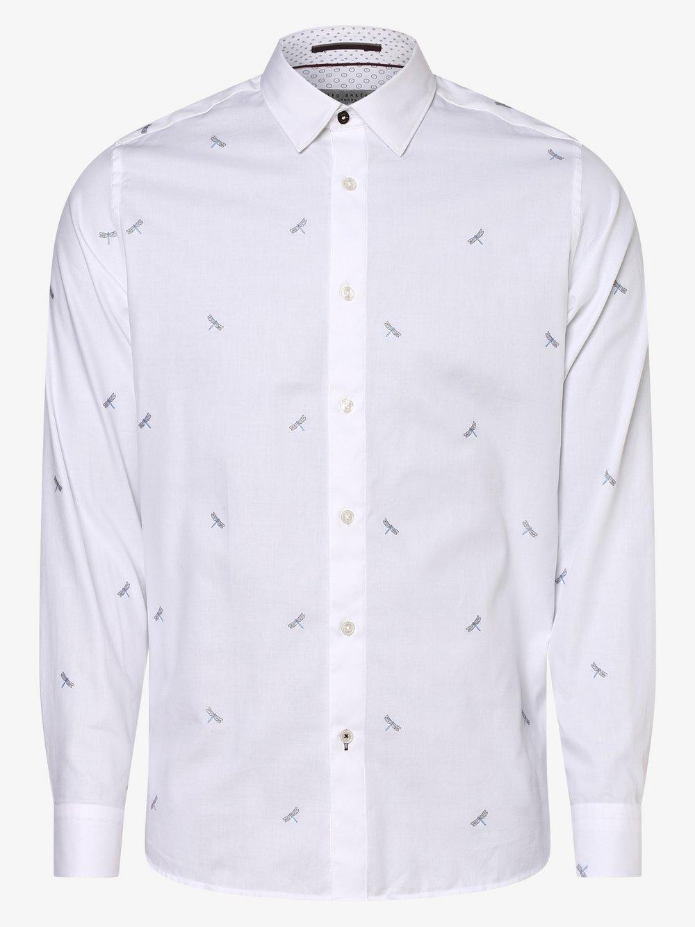 Ted Baker – Koszula męska – Nowhy, biały Van Graaf 456191-0001-09990