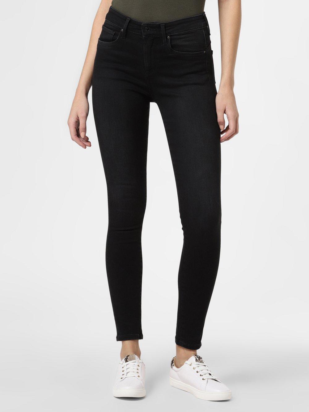 Pepe Jeans - Jeansy damskie – Zoe, czarny