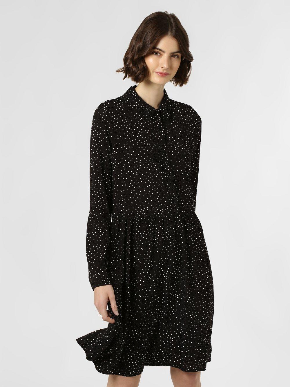 Minimum – Sukienka damska – Bindie, czarny Van Graaf 456333-0001-00340