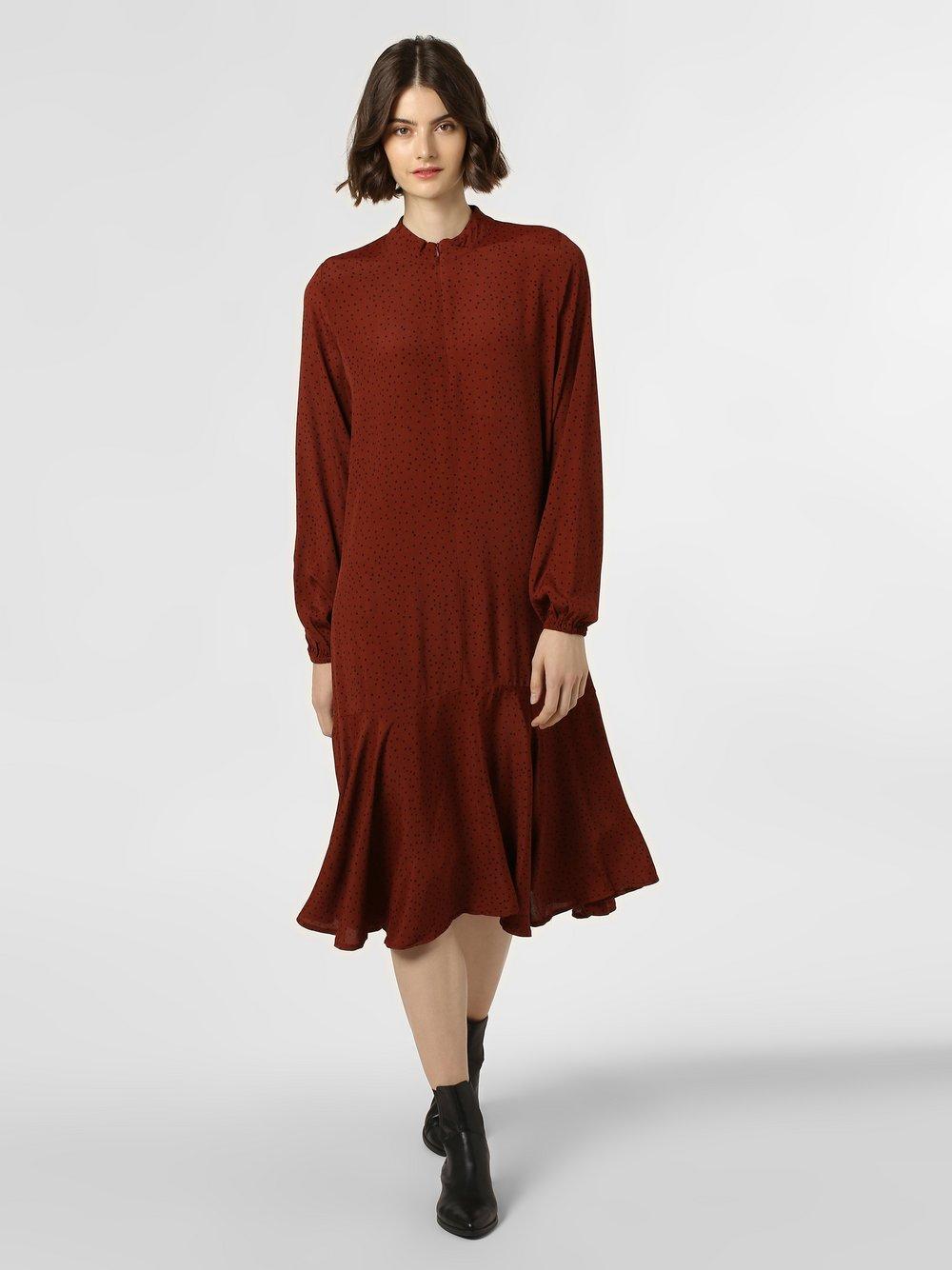 Minimum – Sukienka damska – Mandala, czarny Van Graaf 456334-0001-00380