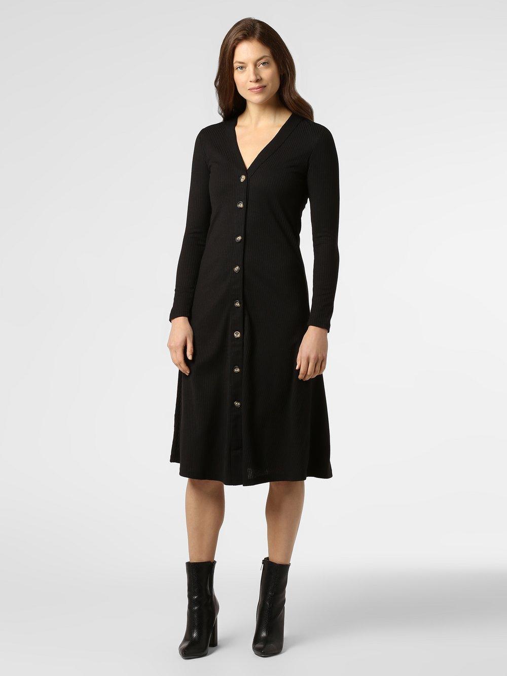 Minimum – Sukienka damska – Gudruna, czarny Van Graaf 456337-0001-09900