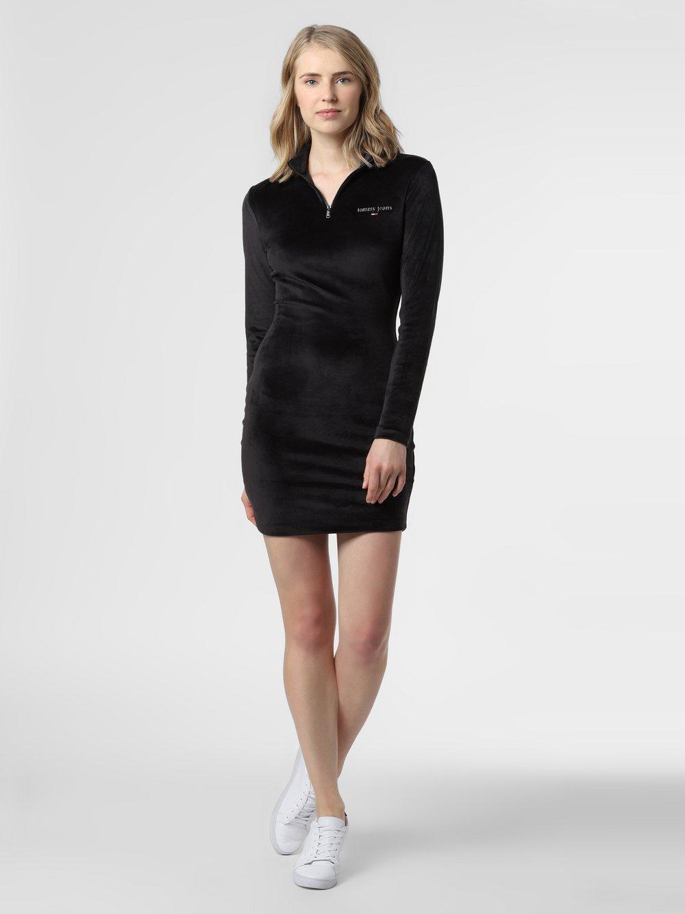 Tommy Jeans - Sukienka damska, czarny