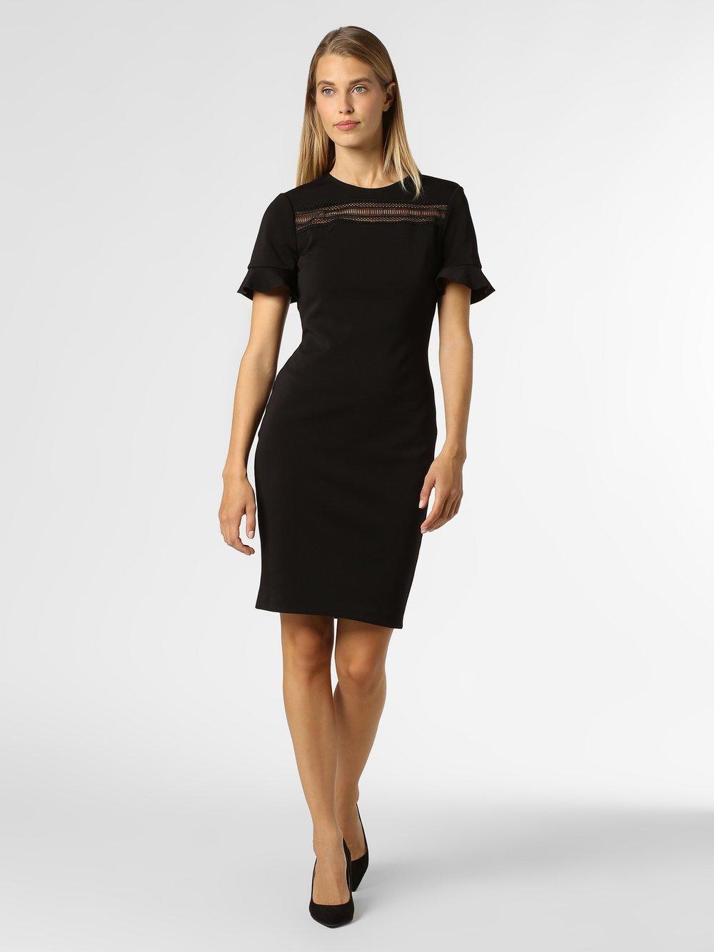 Ted Baker – Sukienka damska – Livsia, czarny Van Graaf 456411-0001-00340