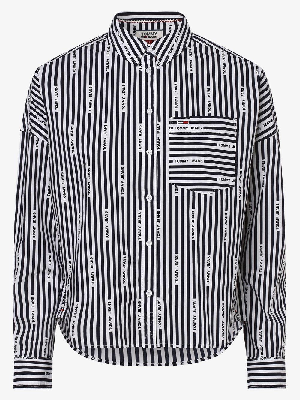 Tommy Jeans - Koszula damska, czarny
