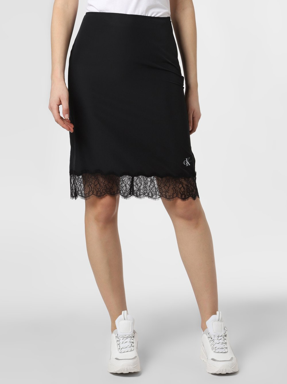 Calvin Klein Jeans - Spódnica damska, czarny