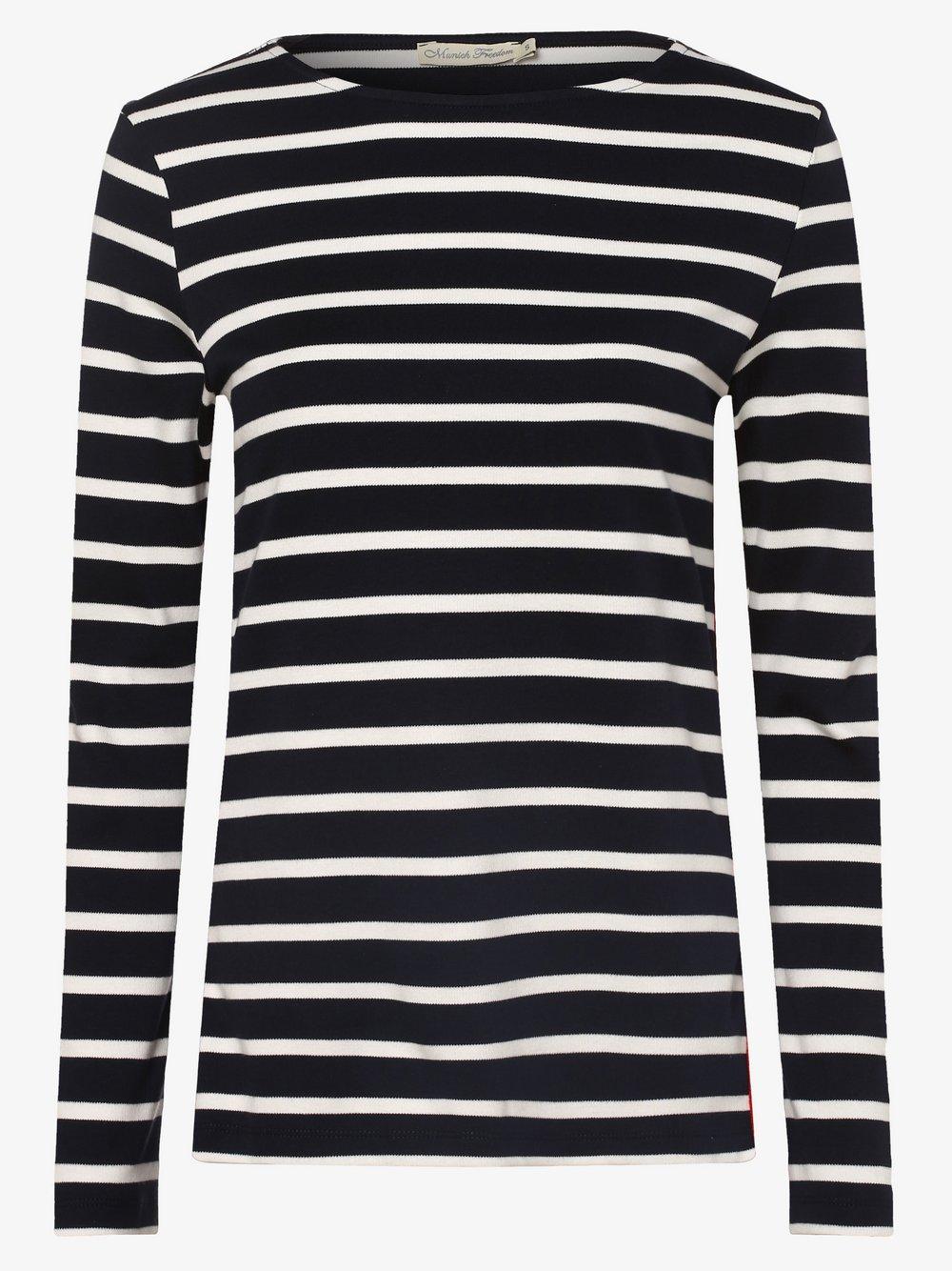 Munich Freedom – Damska koszulka z długim rękawem, niebieski Van Graaf 456663-0002