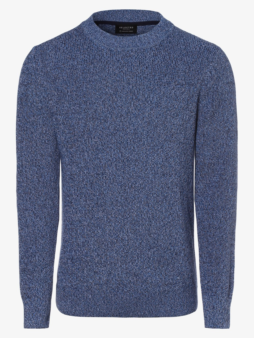 Selected - Sweter męski – Slhmulti, niebieski