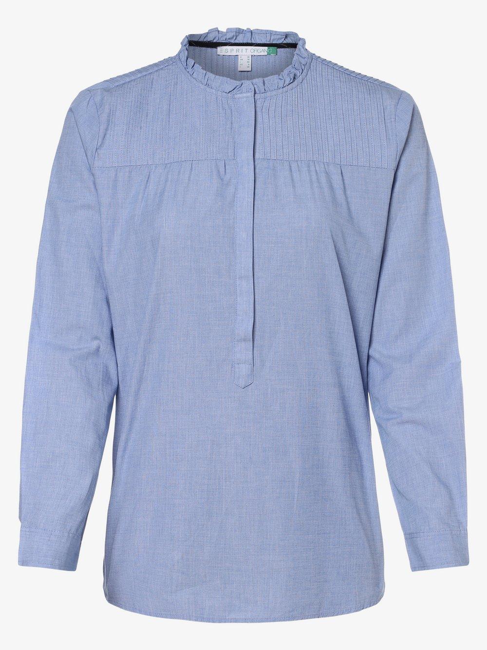 Esprit Casual – Bluzka damska, niebieski Van Graaf 457206-0001