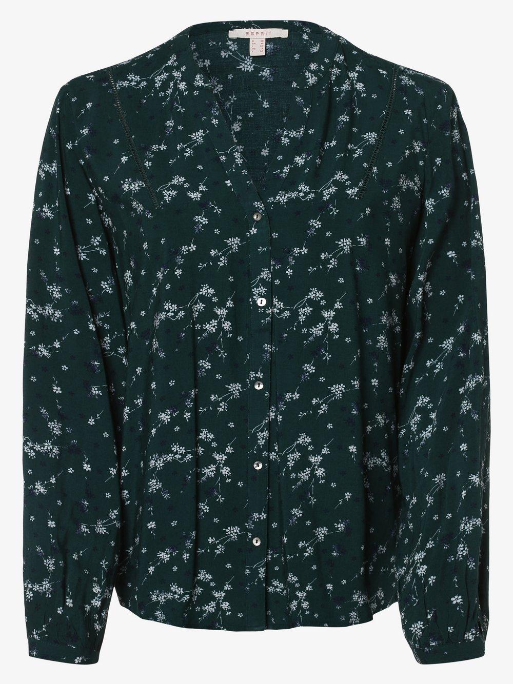 Esprit Casual – Bluzka damska, zielony Van Graaf 457207-0002-00380