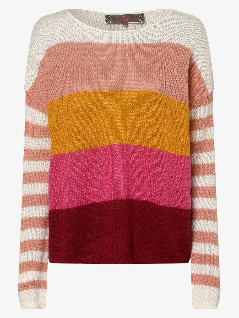 Lieblingsstück – Sweter damski z dodatkiem moheru – ShanayaL, różowy Van Graaf 457274-0001-00400