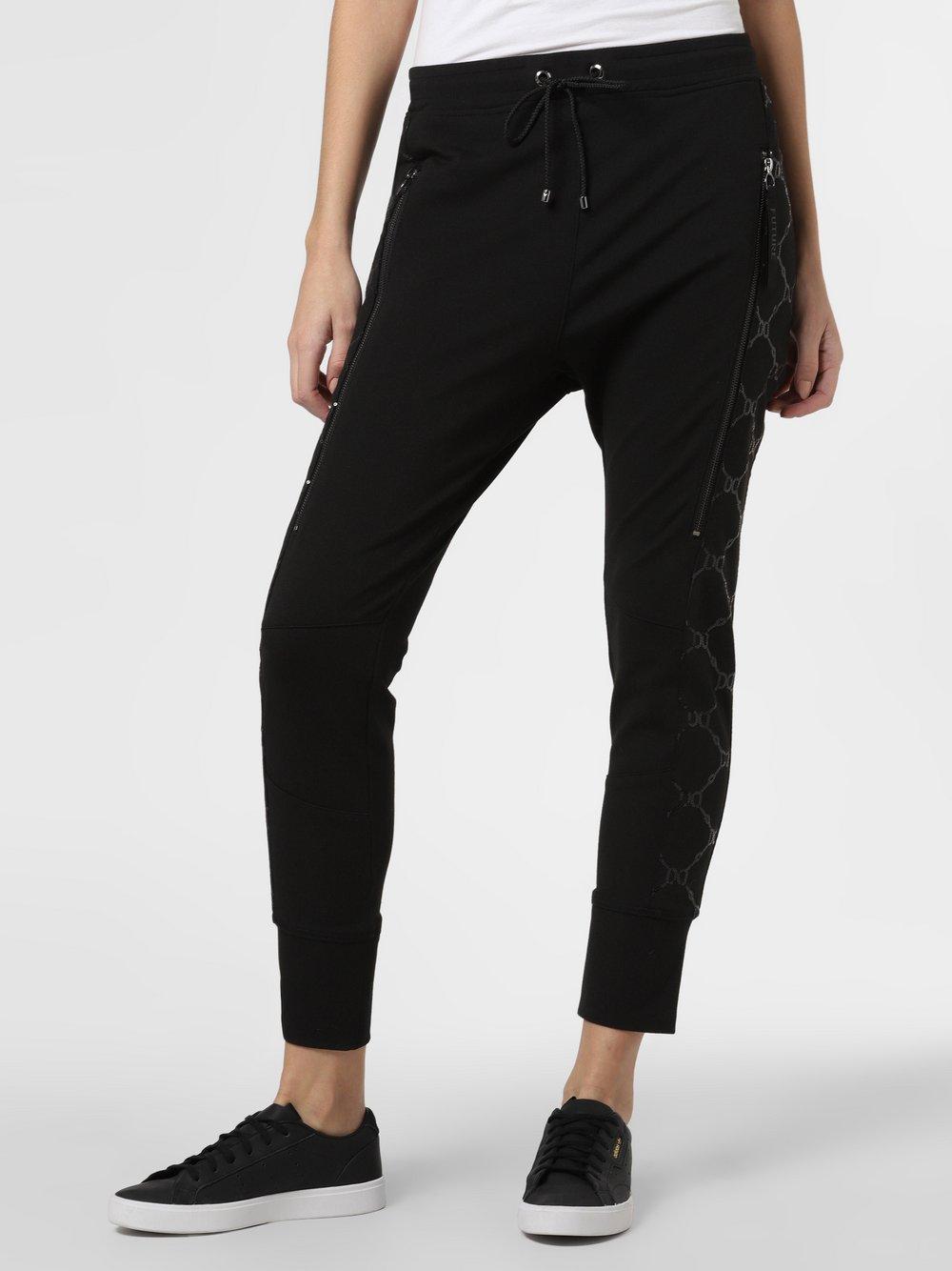 MAC – Damskie spodnie dresowe – Future 2.0 Glam, czarny Van Graaf 457298-0001-00340