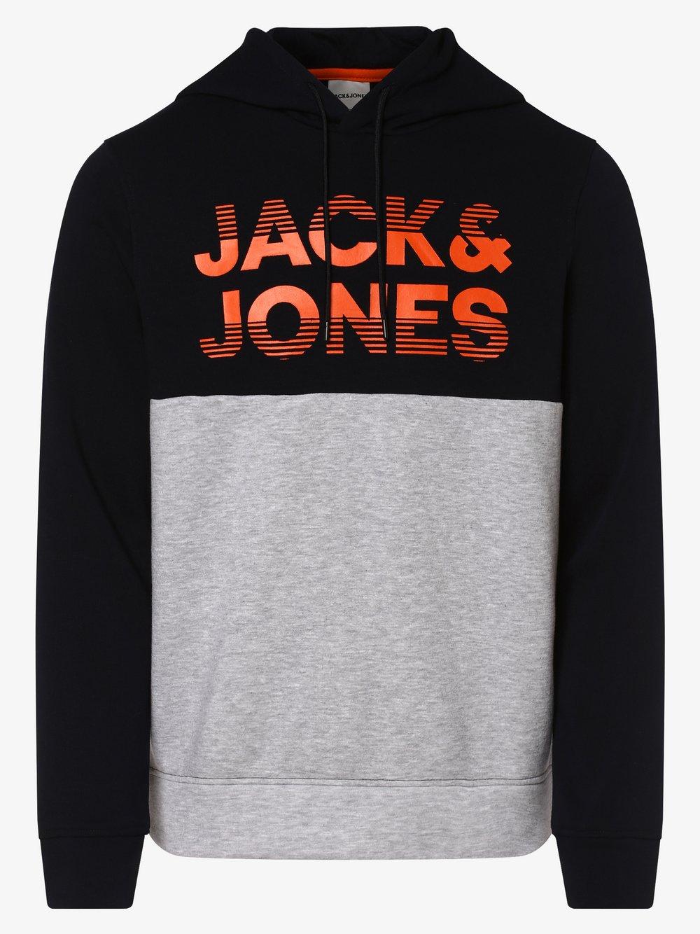 Jack & Jones - Męska bluza nierozpinana – Jcomilla, niebieski