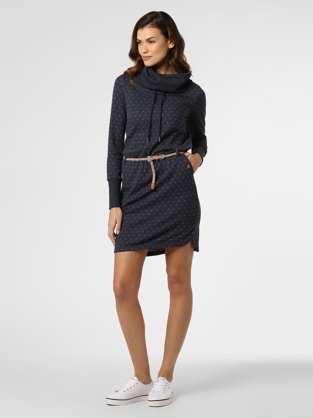 Ragwear - Sukienka damska – Laurra B, niebieski