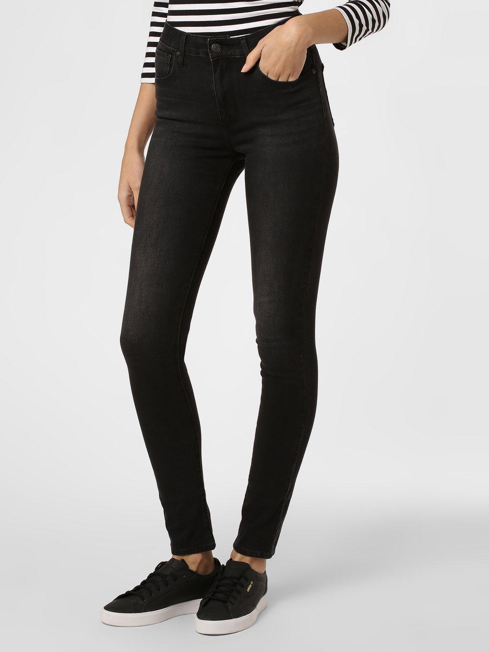 Levi's - Spodnie damskie – 721™ High-Rise Skinny, szary