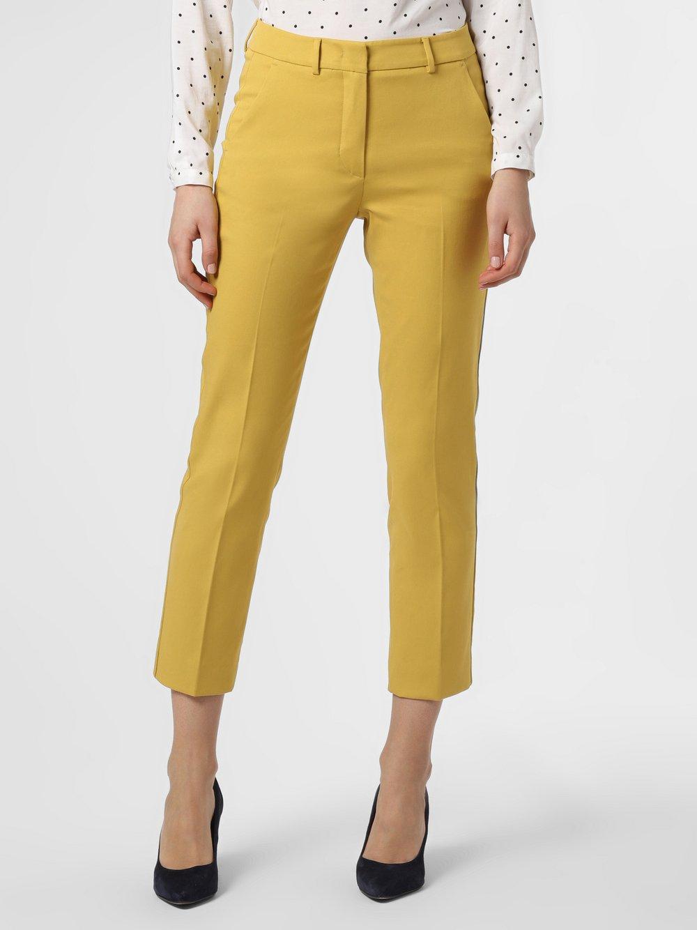 Weekend Max Mara - Spodnie damskie, żółty
