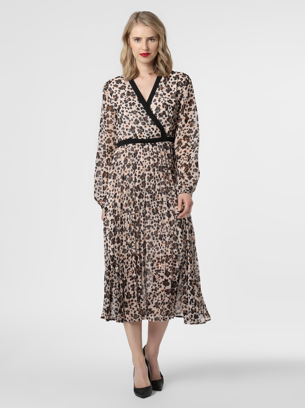 Liu Jo Collection - Sukienka damska, beżowy