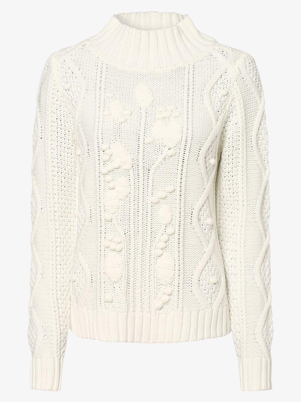 Lieblingsstück – Sweter damski – ShironaL, beżowy Van Graaf 458202-0001-00360
