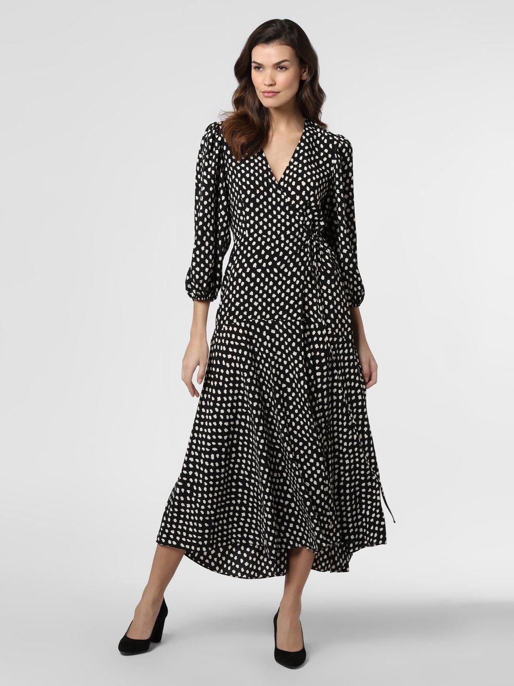 Essentiel Antwerp – Sukienka damska – Vanessa, czarny Van Graaf 458298-0001-00360