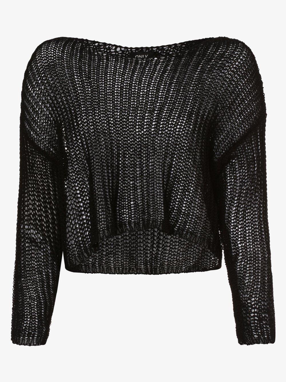 ONLY - Sweter damski – Onlfrancisca, czarny