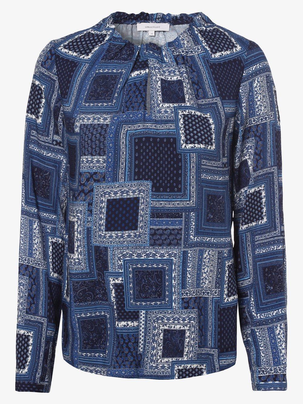 Apriori – Bluzka damska, niebieski Van Graaf 458409-0001-00380