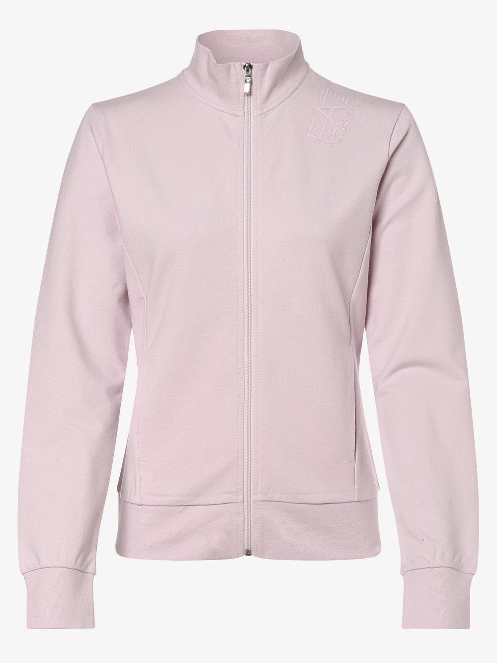 EA7 Emporio Armani - Damska bluza rozpinana, lila