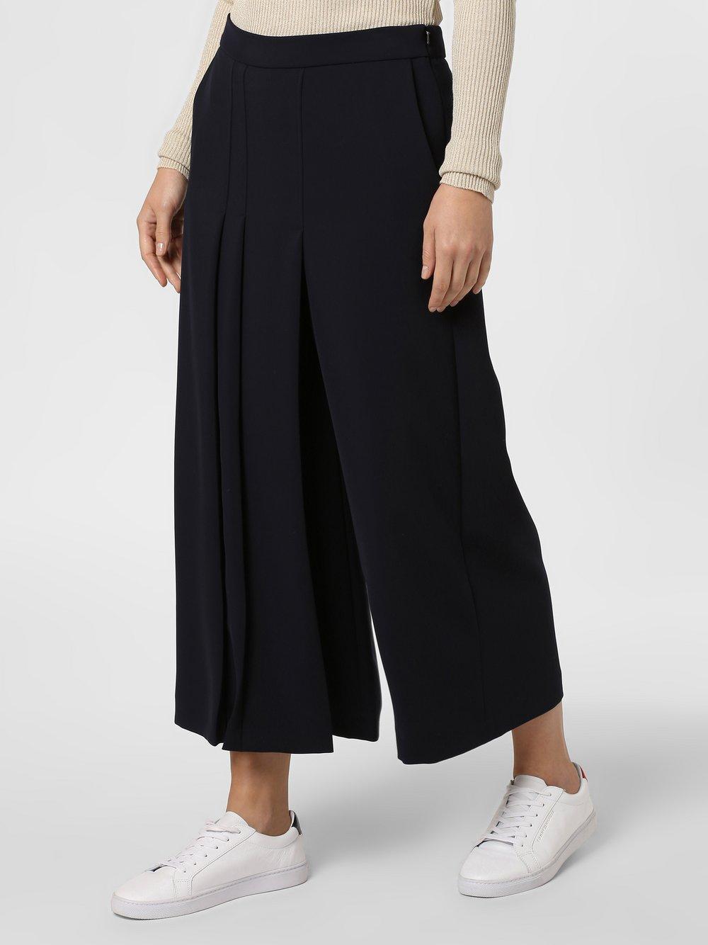 RAFFAELLO ROSSI – Spodnie damskie – Agnetha, niebieski Van Graaf 458446-0001-00360
