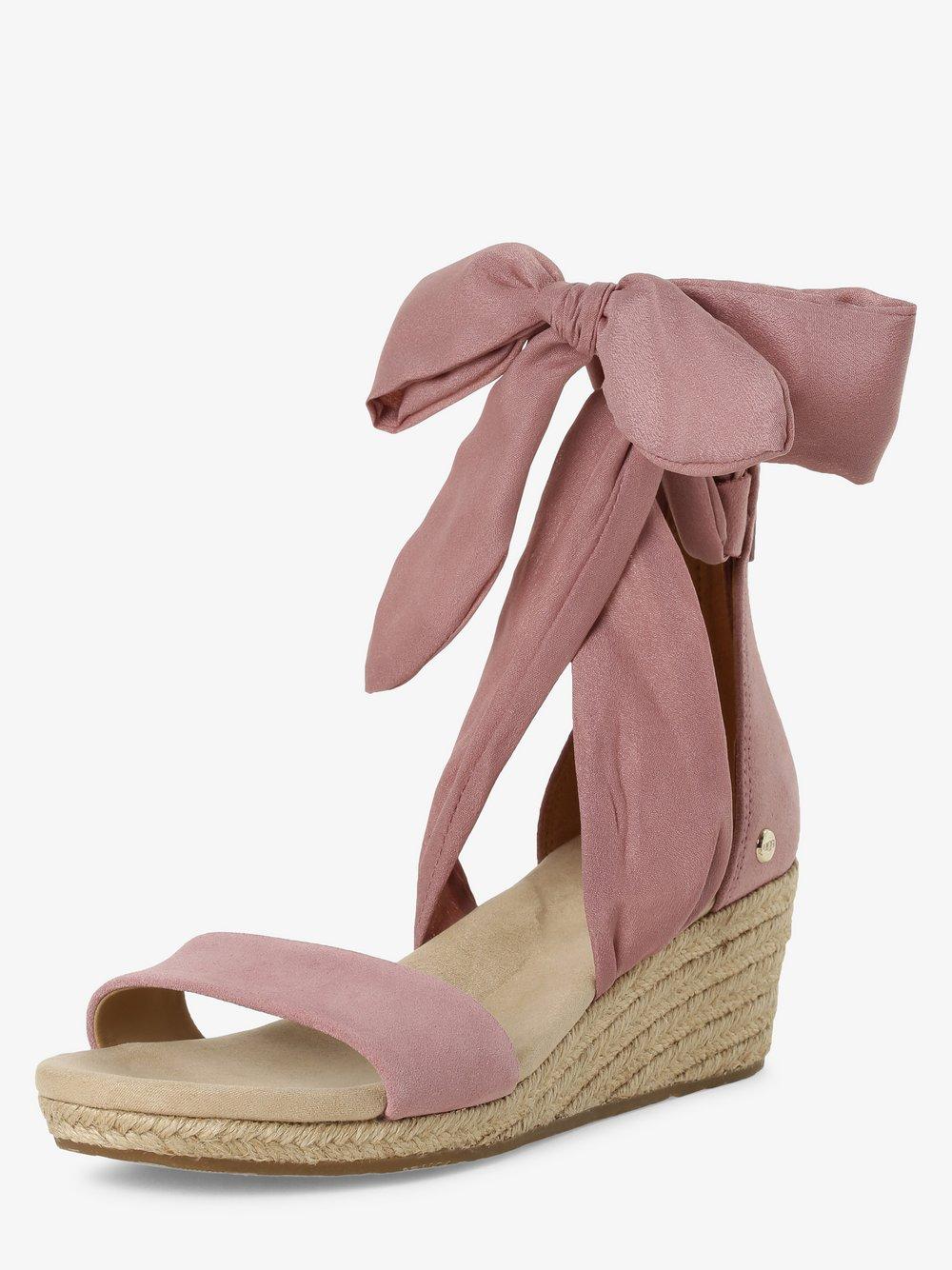 UGG - Sandały damskie z dodatkiem skóry – Trina, różowy