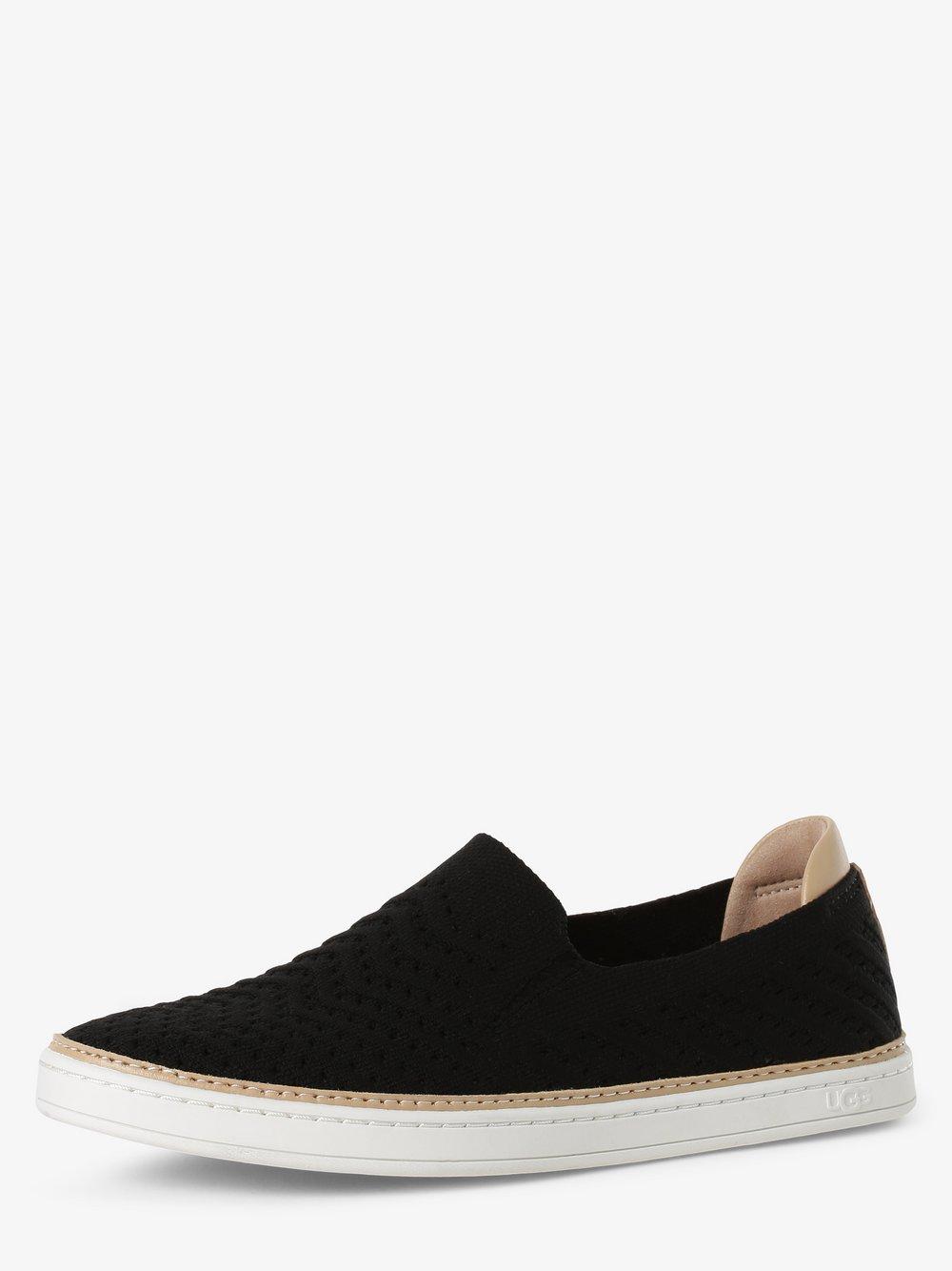 UGG - Damskie pantofle – Sammy Chevron, czarny