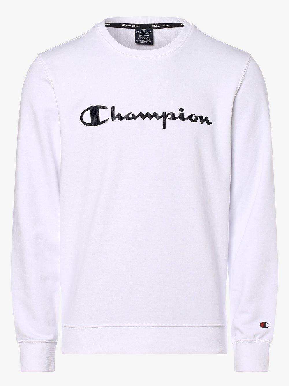 Champion - Męska bluza nierozpinana, biały