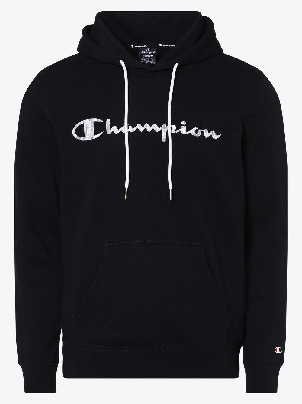 Champion - Męska bluza nierozpinana, niebieski