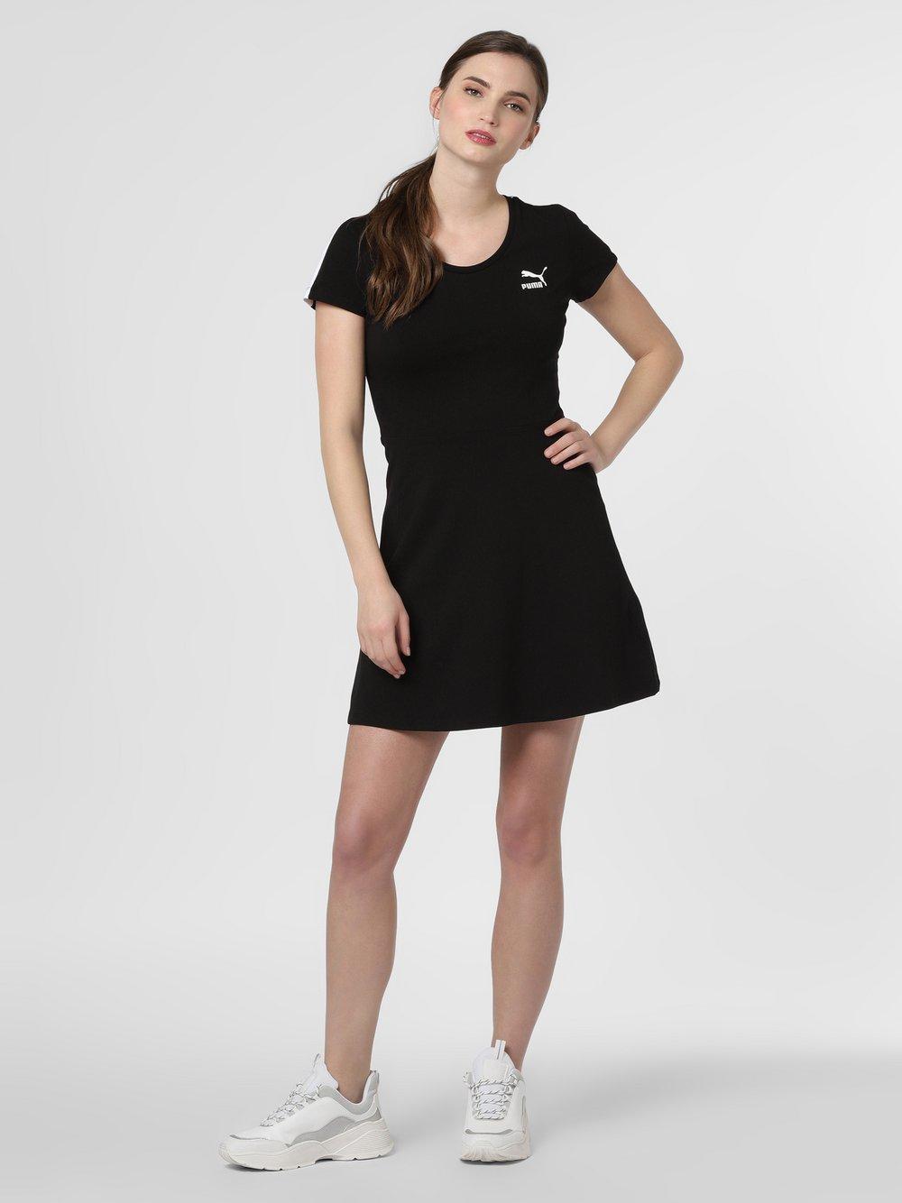 Puma - Sukienka damska, czarny