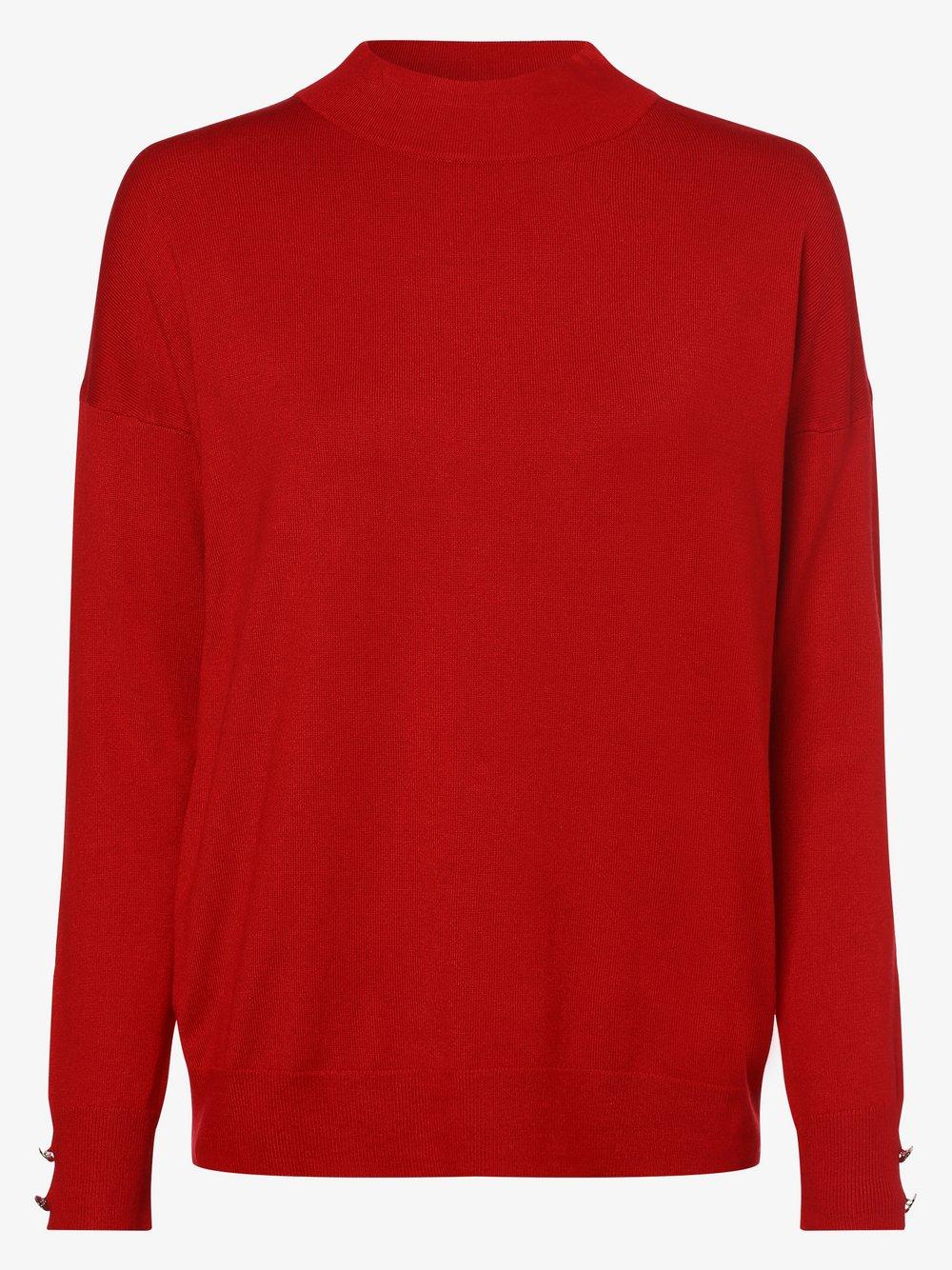 s.Oliver BLACK LABEL - Sweter damski, czerwony s.Oliver BLACK LABEL