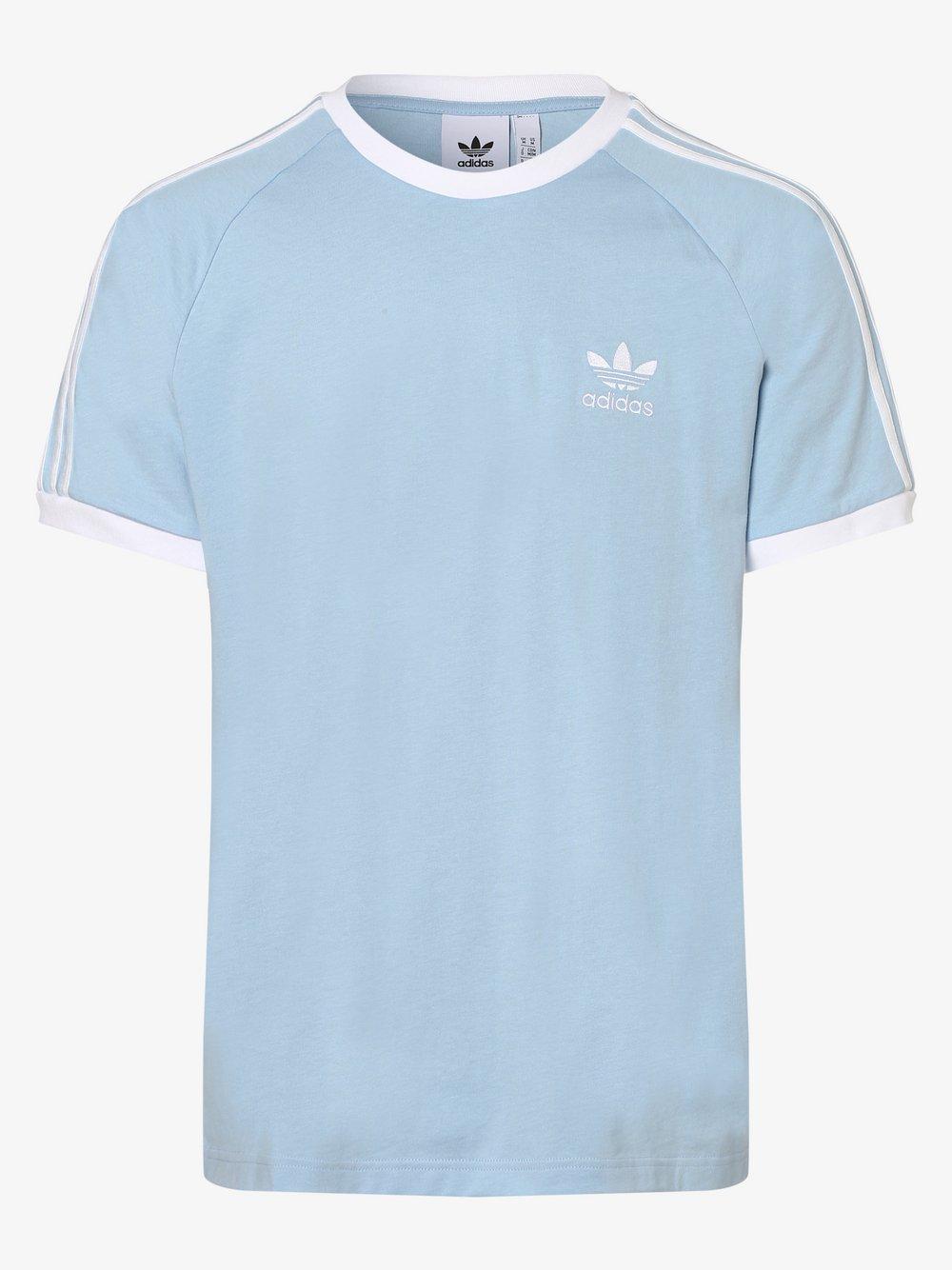 adidas Originals - T-shirt męski, niebieski