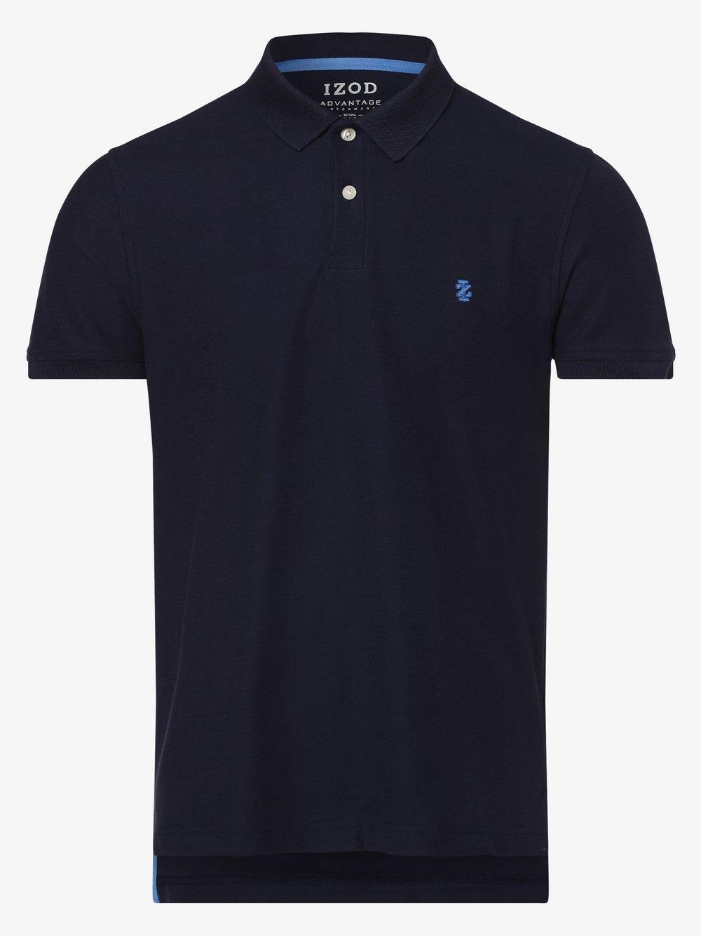 IZOD - Męska koszulka polo, niebieski