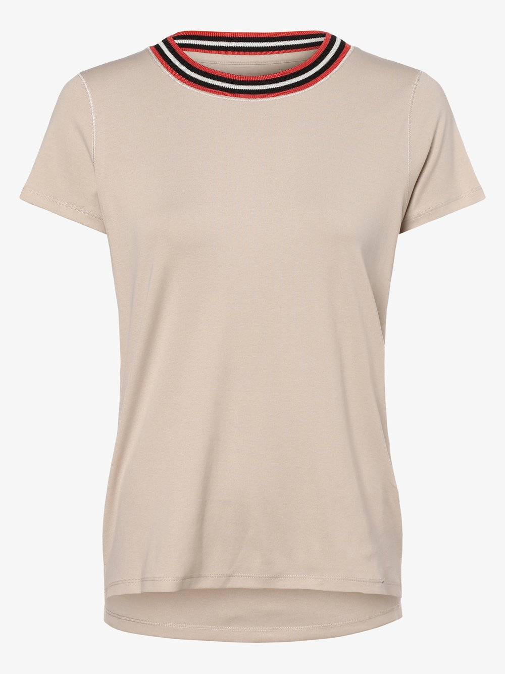 Marc Cain Collections - T-shirt damski, beżowy