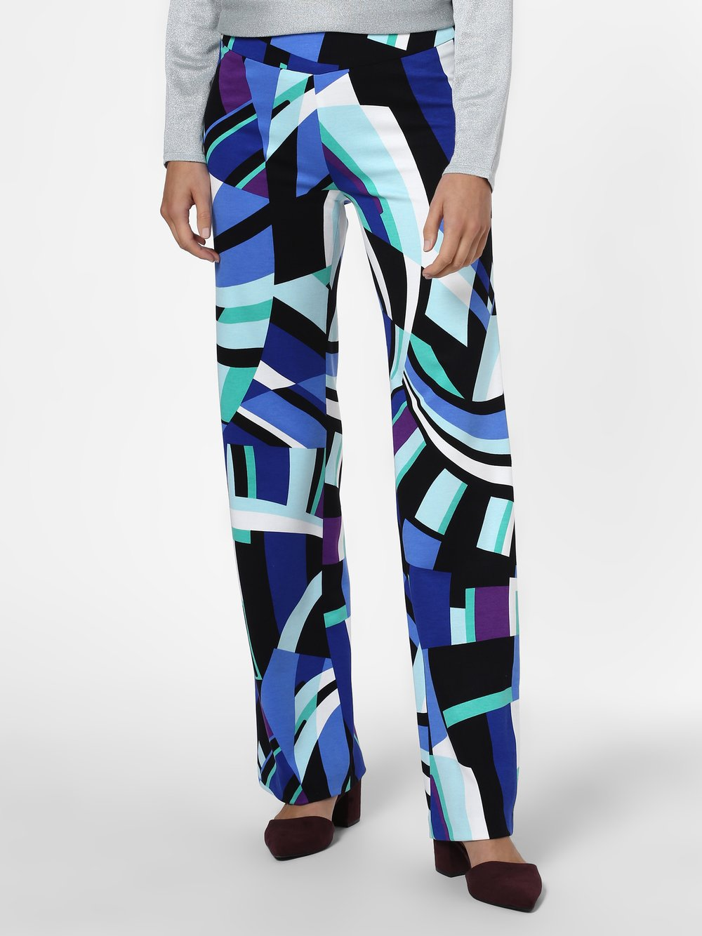 Marc Cain Collections - Spodnie damskie, niebieski