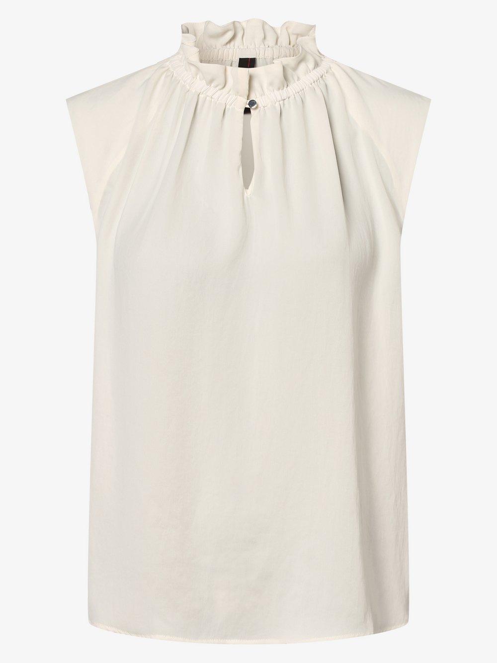Marc Cain Collections – Damska bluzka bez rękawów, biały Van Graaf 458991-0001-00440