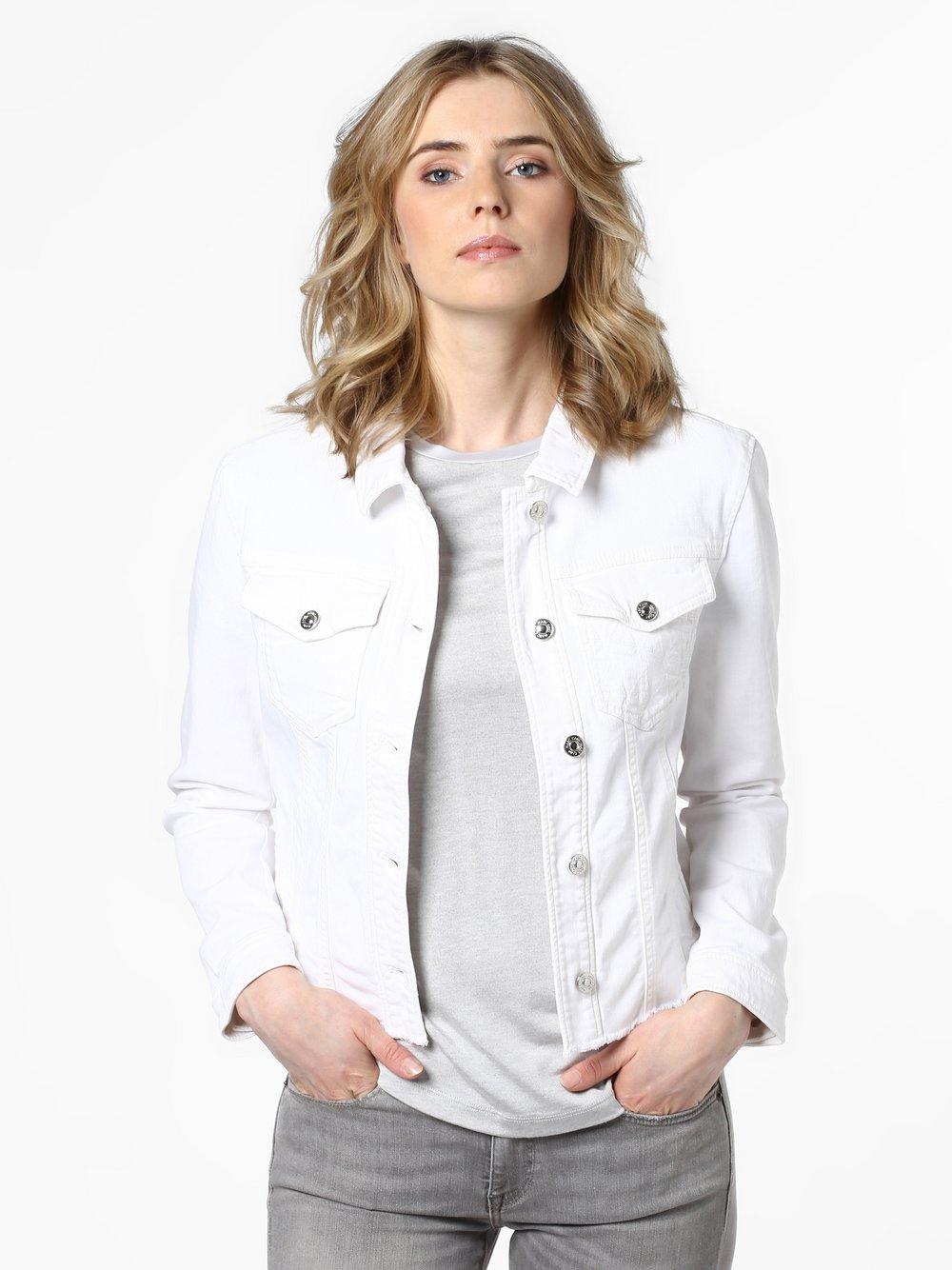 Marc Cain Sports – Damska kurtka jeansowa, biały Van Graaf 459041-0002